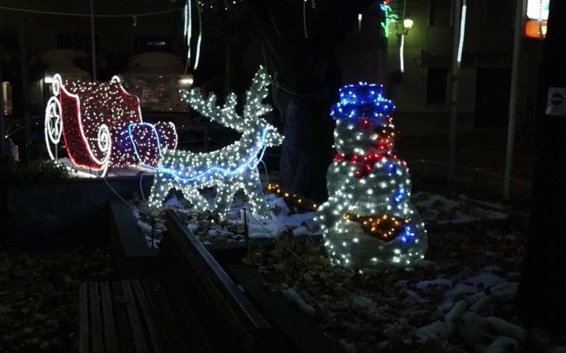 Il Natale ad Aquino: splendide luminarie e magico villaggio di Babbo Natale!