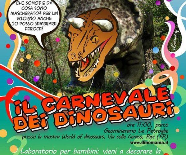 Carnevale dei Dinosauri!